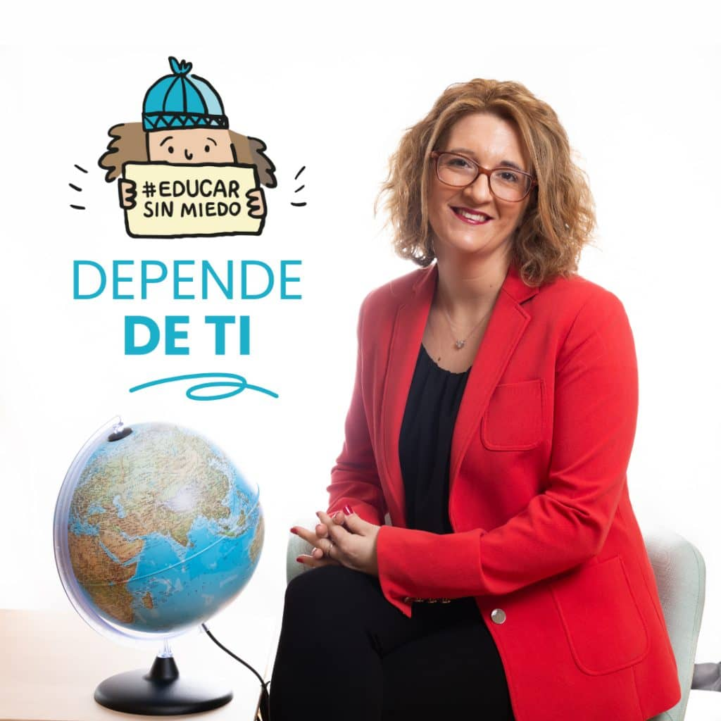 Leticia Garcés Larrea con educar sin miedo