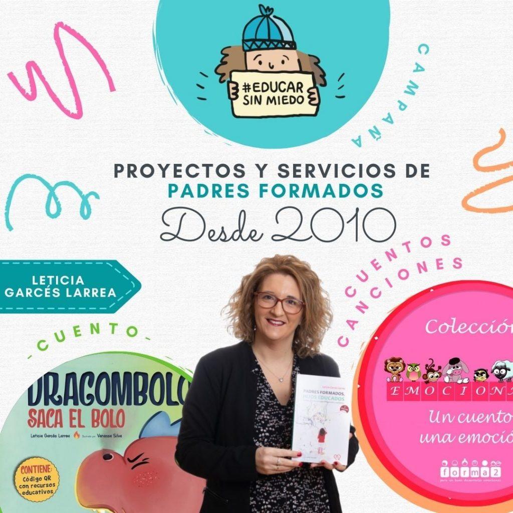 Padresformados.es archivo: Leticia Garces Larrea proyectos